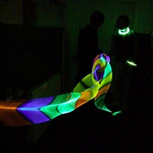 amazing glowstick skipping rope and