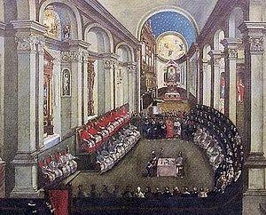 The Council of Trent Met to: Condemn Protestant Doctrine Clarify Catholic Teaching /