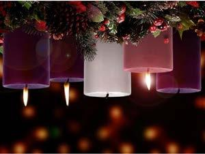 A common practice in churches and homes during the season of Advent is the progressive lighting of four candles three purple and one pink.