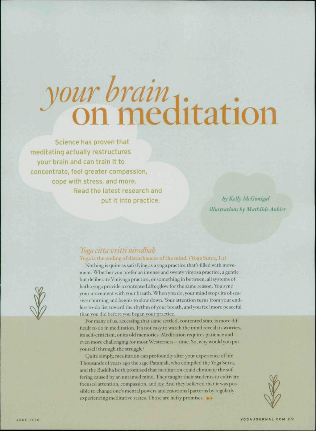 Onmeditation your brain i pdf your brain i onmeditation science has proven that meditating actually restructures your brain and can fandeluxe Choice Image