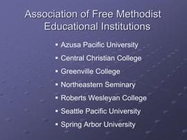 Slide 23 Note: Hyperlink slides are available for each of these institutions.