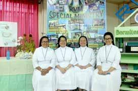 Maria Gloria Bonghanoy, RVM Former District Superior of Italy The love and passion that the Sisters have for the ministry, even in their old age, fired me to do more in the responsibility I was given.