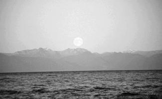 Moonrise at Chatham Strait, NOAA, John Bortniak Now if this be so, nothing is or takes place fortuitously, either in the present or in the future, and there are no real alternatives; everything takes