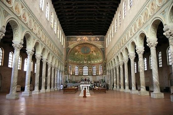 St. Apollinare en Classe, Ravenna, Italy Notice the long