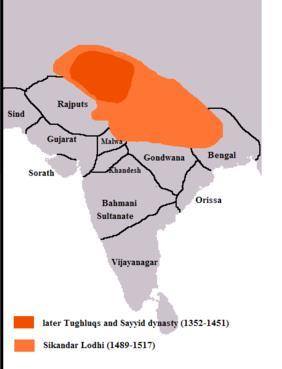 Sultanate in the 15 th Century Timur invades in 1398 Dehli Sultanate loses territory throughout