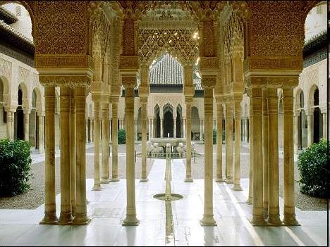 beautiful palaces were built during the Islamic periods