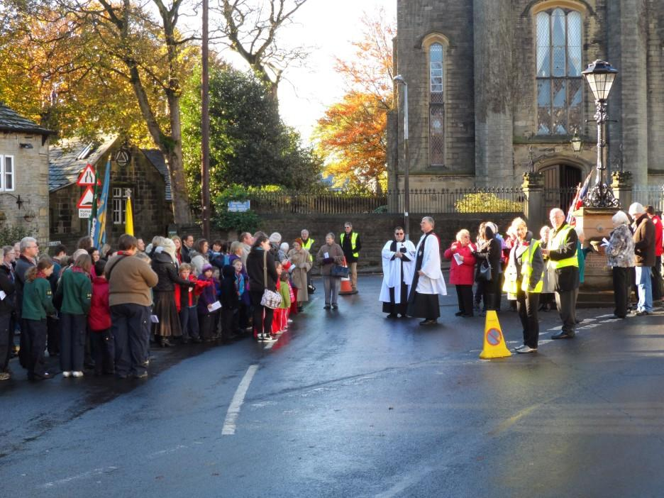 Remembrance Sunday 12th November - Remembrance Service Beginning outside the Maypole Warley starting at 10.45am and then processing to St. John s Church for the conclusion of the service.