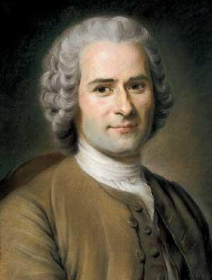 Jean-Jacques Rousseau Jean-Jacques Rousseau (b1712-1788) French philosopher Beliefs: Man was naturally good, but society corrupted nature of man The Social Contract (1762) Divine right monarchies