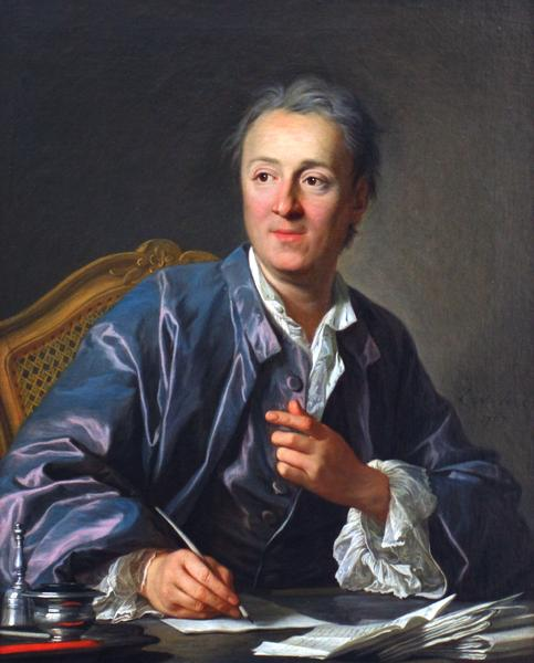 Denis Diderot (1713-1784) French Philosophe who published 17 vol.