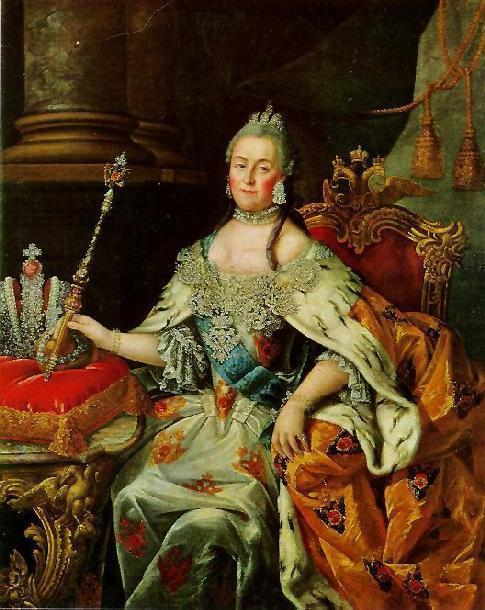 The Enlightenment Catherine the Great Empress of Russia (1762-1796) Worked with Philosophes from France like Diderot She