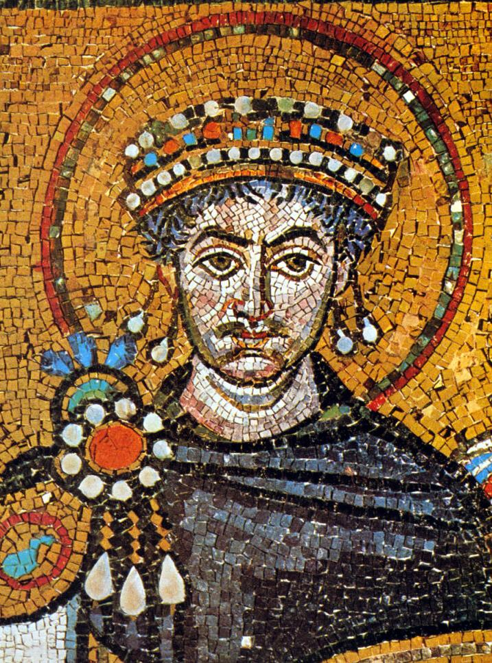 Justinian Justinian was a serious emperor who worked from dawn to midnight He helped