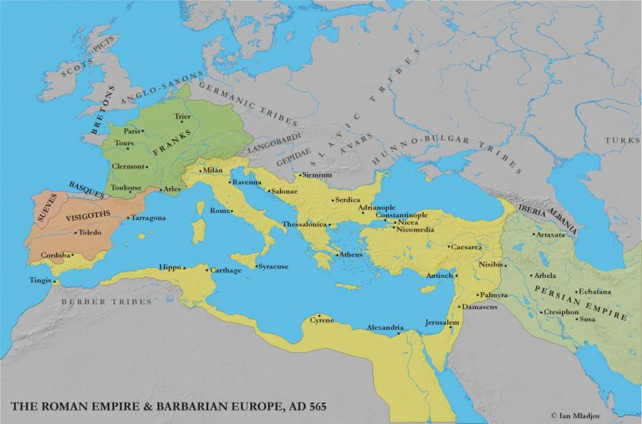 Byzantine Under Justinian He wanted a re-conquest of the
