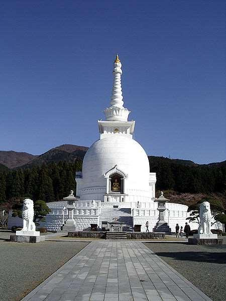1) These stupas have spread