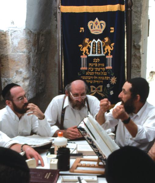 around the world. Over the centuries, rabbis studied and commented on Judaism s sacred texts, and developed other new practices.