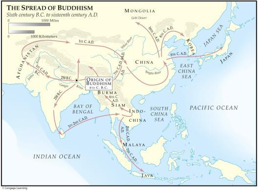 Chapter Five: Ancient Civilizations of India and China Map 5.