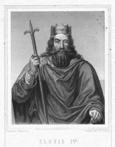 Kingdom of the Franks Clovis 481 511 converts to Christianity in 496 in order to gain support from the Pope and the Catholic church