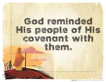 Christ Connection: God kept His promise to give land to the families of Abraham, Isaac, and Jacob. As the Israelites stood at the edge of the promised land, God reminded them of His covenant.