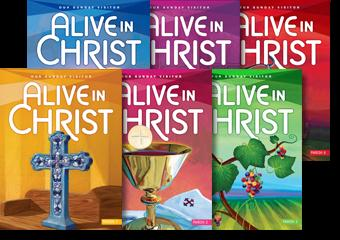 2. Our Sunday Visitor Alive in Christ Is used for First Grade through Fifth Grade classes.