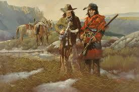 Routes to the West The fur trappers, who were often called mountain men, roamed the Rocky Mountain region starting