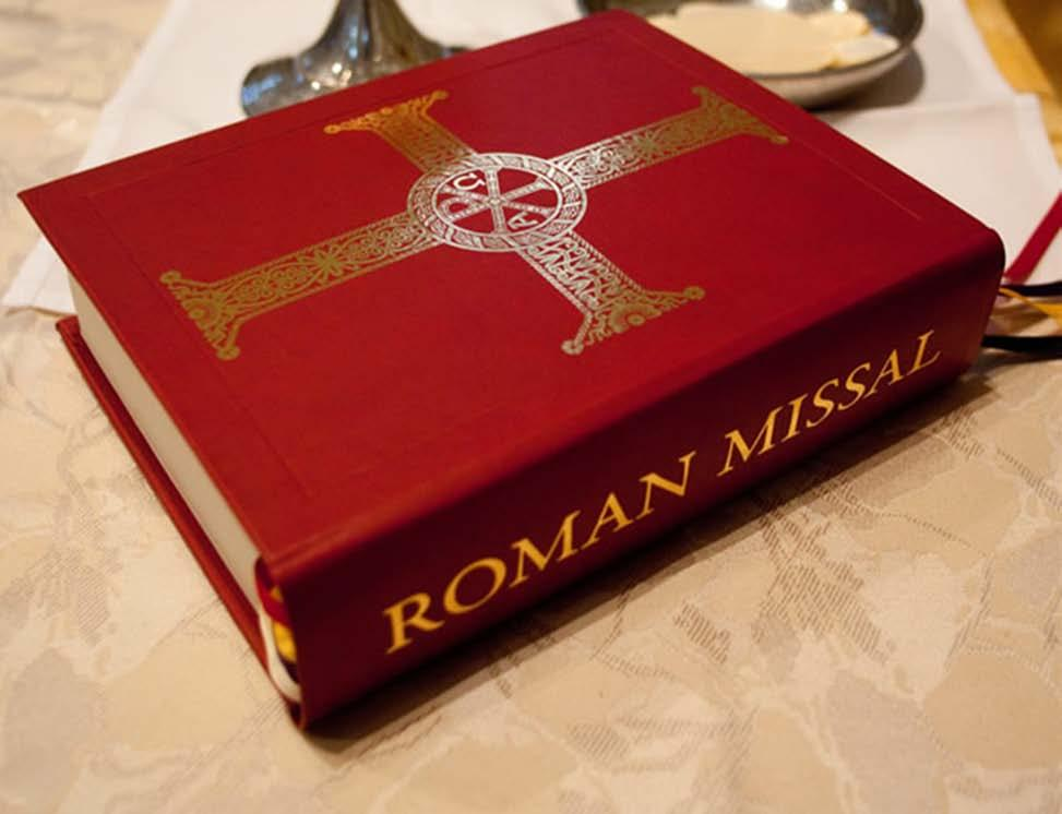 the Roman Missal, 3 rd Edition Singing the Mass for deacons Diocese of