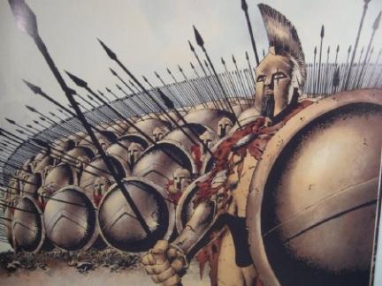 The society of Sparta focused on military