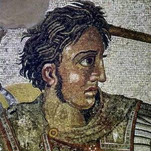 King Alexander of Macedonia Alexander was only 20 years old when he became king The well-educated Alexander was