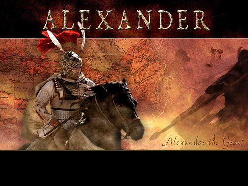Alexander set his sights on the Persian Empire and began his attack by