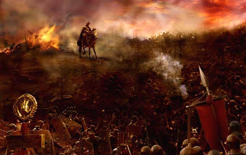 THE PUNIC WARS With Carthage s defeat, the Romans were then the