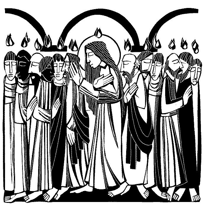 Psalm of the Day: 51b on page 87 Lesson: Acts 2:1-21 (NIV) 1 When the day of Pentecost came, they were all together in one place.