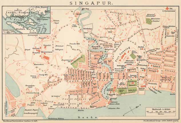 Chapter 3 Bhai Maharaj Singh Memorial Map of city of Singapore in the 1890 s References on the map: A.