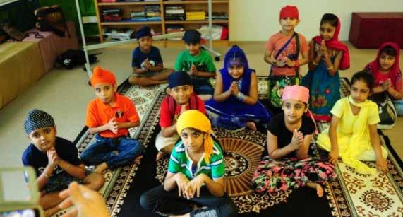 Chapter 7 Gurdwara Silat Road - Sikh Centre d. Sojhi This is a formal Sikhi education programme for children from Nursery to Secondary School.