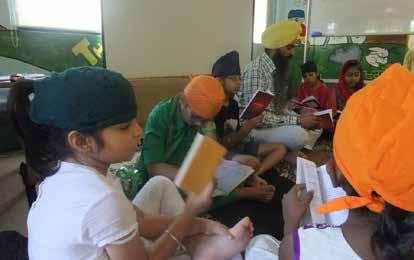 The material used is an adaptation of a similar programme developed by the Sikh Research Institute (SikhRI) in the United States of America.