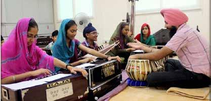 The Academy initially started with one Gurmat Sangeet instructor at the Sikh Centre; however to meet the increased demand, a second location for the Gurmat Sangeet Academy was started in Central Sikh