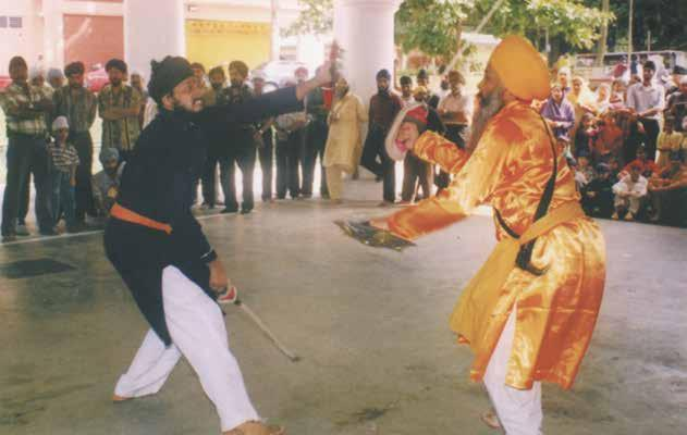 Chapter 7 Gurdwara Silat Road - Sikh Centre GATKA ACADEMY The Centre also established the Gatka Academy to