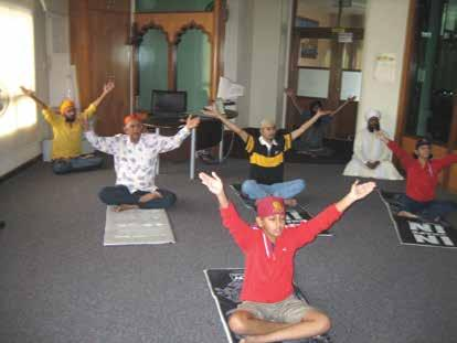 Chapter 7 Gurdwara Silat Road - Sikh Centre Instilling a wholesome healthy lifestyle is part of the Sikh Centre mandate.