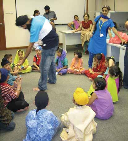 parties and games during Bandhi Chhorh