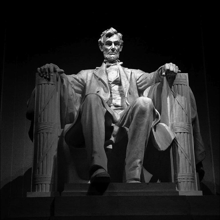 Americans recognize Lincoln s sacrifices and his courage Americans say Lincoln was the biggest risk-taker of all the U.S.