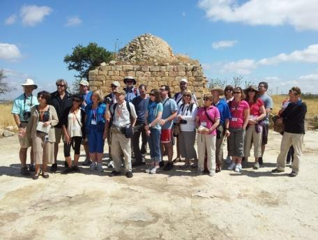 Day 7 Wednesday, September 30, 2015. Samaria We start our day with a visit to Joshua's Altar on Mt. Ebal, the greatest archeological discovery of the 20 th century.
