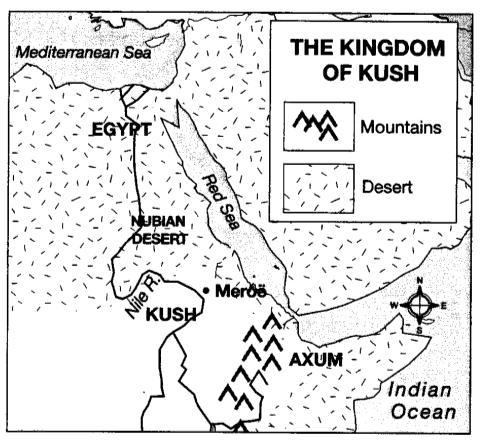 Case Study III: Nubians (Chapter 4, Section 1, pages 83-87) Kush was the first kingdom to appear in sub- Saharan Africa. For centuries, the Nubian kingdom of Kush traded with Egypt.