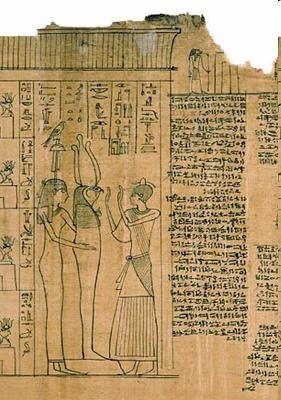 confessions, and words of power known as the Egyptian Book of the Dead (many
