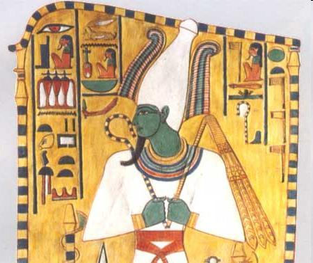 with Nature God of Nile was Osiris (also god of