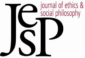 BY D. JUSTIN COATES JOURNAL OF ETHICS & SOCIAL PHILOSOPHY