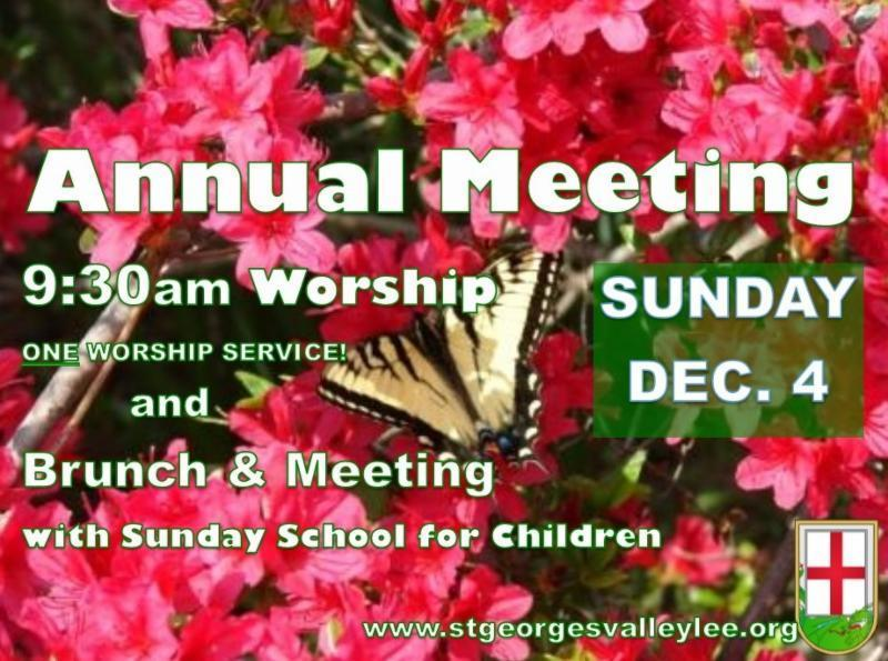 ONE worship service at 9:30am Brunch, Meeting & Sunday School for Children follows worship We're looking forward to worshiping, all together, at one combined 9:30am service on Sunday, Dec.