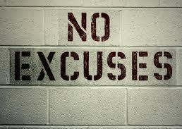 Excuses, Excuses Sadly, many in the world TODAY continue to make the most asinine excuses for not obeying Jesus.