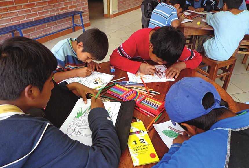 Project Synopsis Description This project will provide salaries for teachers at Amanecer ( Daybreak ), a Catholic ministry that cares for poor and vulnerable children.