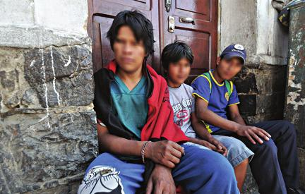 The Need: Hurting Children This poor soul cried, and was heard by the LORD. ~ PSALM 34:6 Bolivian street children are at risk for malnutrition and drug or alcohol addiction.