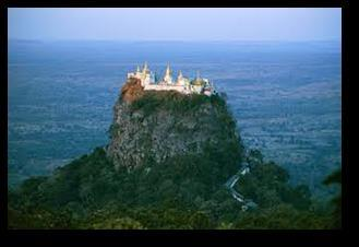 Day 4: Bagan Mount Popa Bagan (Breakfast) Mystical Mt. Popa Tour Attractions: Mt.