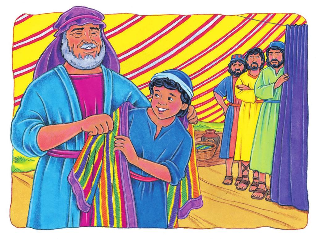 Thank you, thank you, Father, says Joseph.