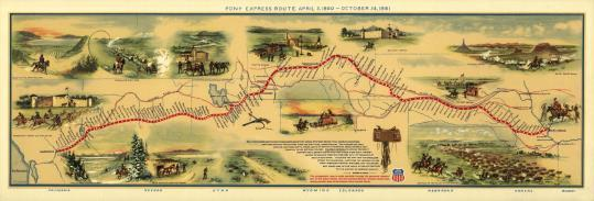 Slide 10 The Pony Express Purpose: provide the fastest mail delivery between Missouri and California They also hoped to gain a million dollar government mail contract Date: April 3, 1860, to late