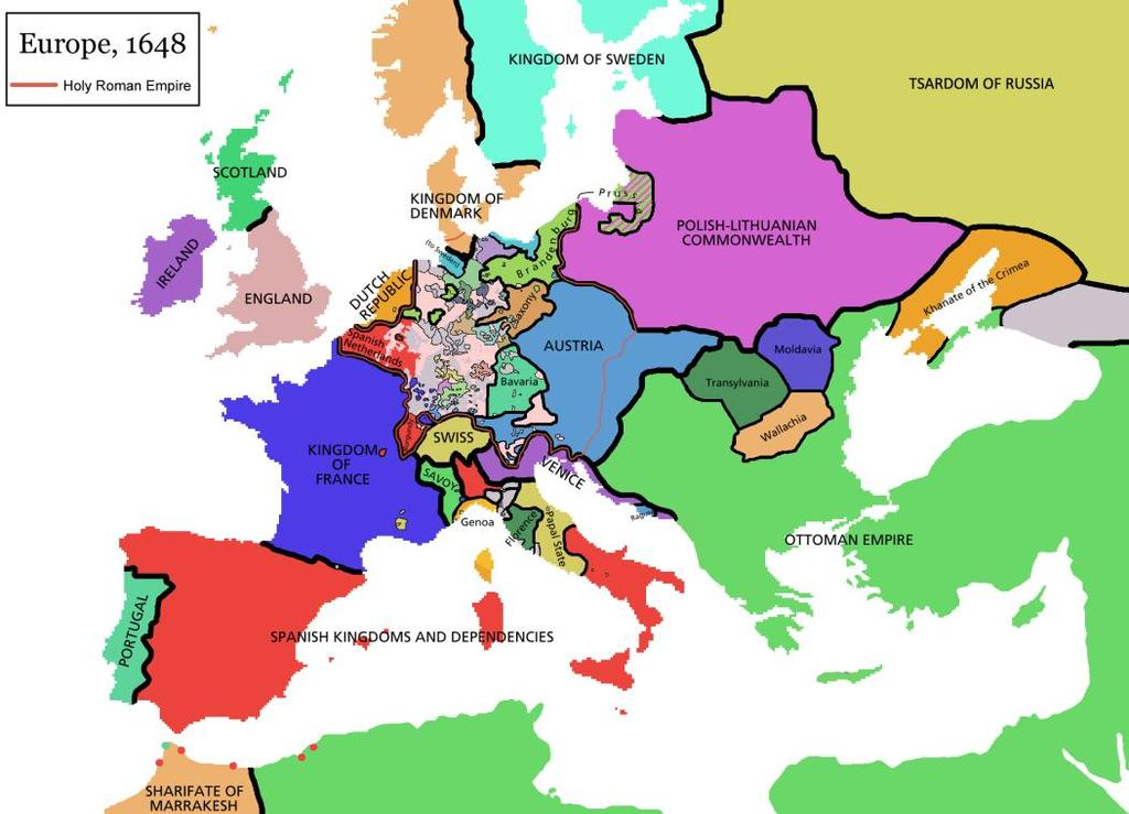 Settled by the Peace of Westphalia More than 300 states that were formerly part of the Holy Roman Empire became independent Effects of the War Calvinism was not